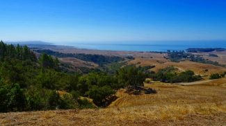 across the landscape of monterey california usa perfect for hiking