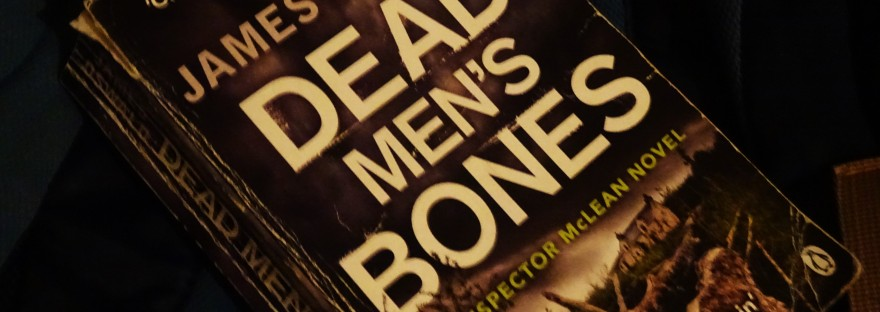 dead mens bones paperback crime fiction book by james oswald