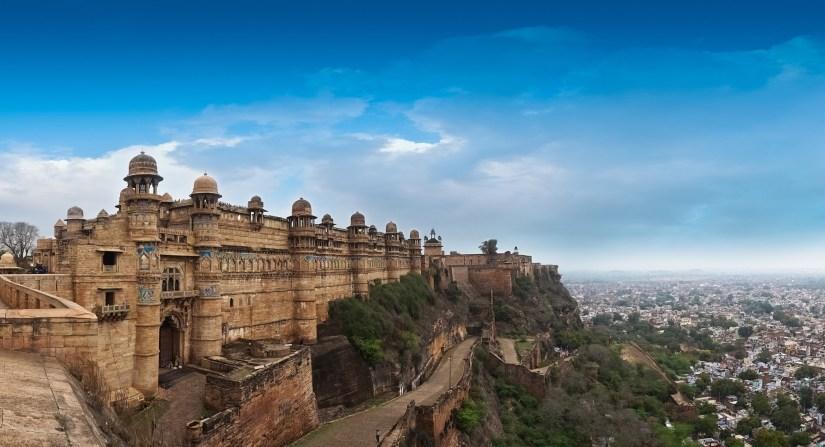 gwalior fort in indias madhya pradesh