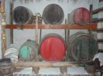 greek wine casks on zakynthos
