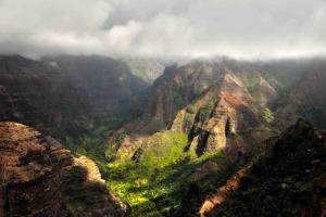 mauis mountainous landscape