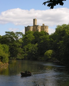 warkworth castle with boat trip to hermitage