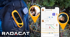 RADACAT messenger and tracker