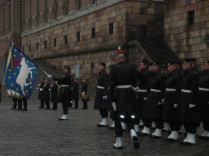 changing of the guards in stockholm sweden
