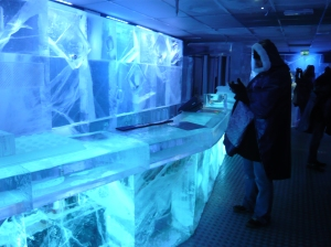 absolut ice bar stockhom sweden