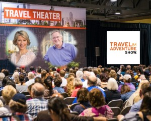 samanta brown and rick steves to appear as speakers at the travel and adventure shows