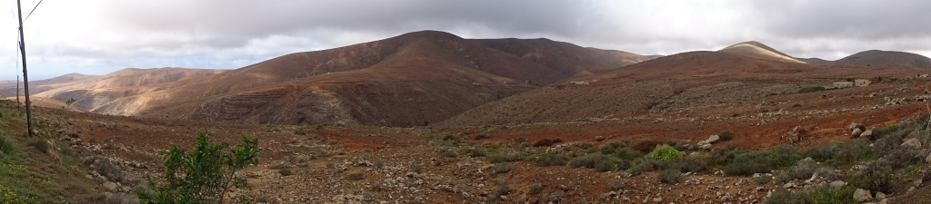 the landscape of fuerteventura