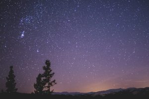 stargazing at becon fell country park in lancashire