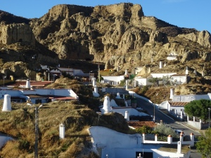 the cave homes of guadix