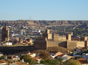 overlooking the city of guadix