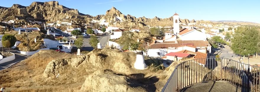 the view over gaudixs cave quarter