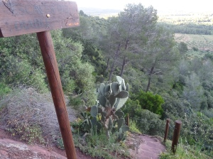 devils steps at mont roig in catalnia