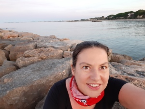 me enjoying cambrils on the costa dorada