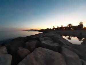 the sea and sky of cambrils on the costa dorada