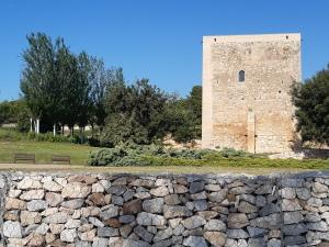 water torre at the parc torre d en dolca