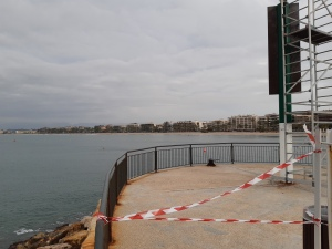 viewpoint at salou harbour