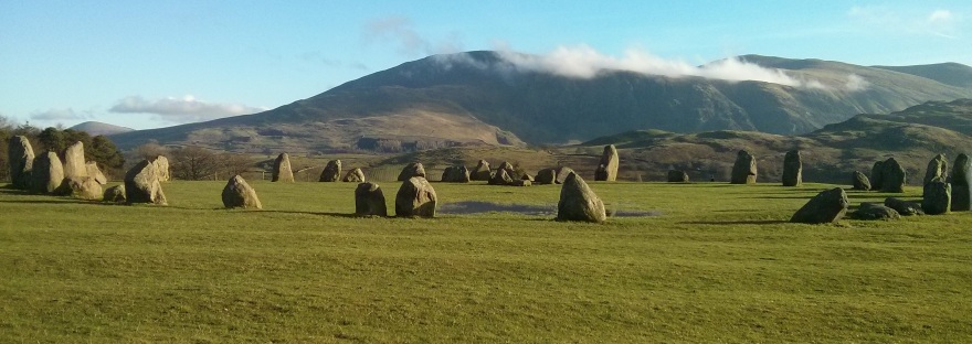 the castlerigg stone circle in englands lake district