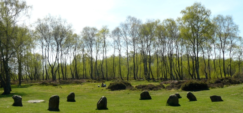 the ten stones of the nine ladies in derbyshire