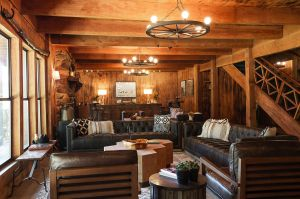 inside of a lodge at greenhorn ranch