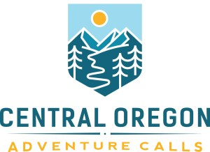 logo for central oregon adventure calls series