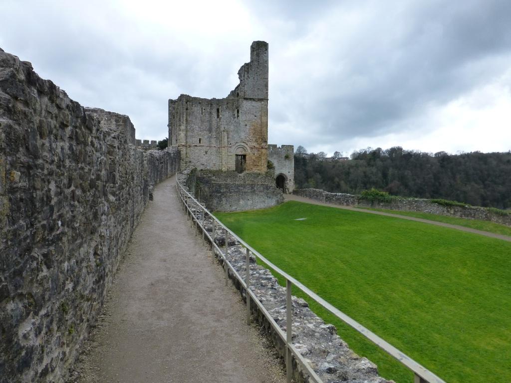 chepstow castle in wales