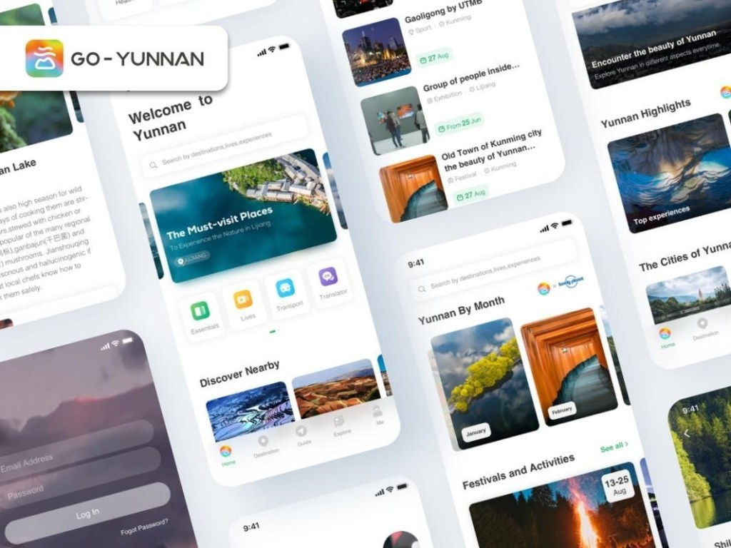 the go-yunnan website and app